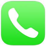 一般的な電話アプリ